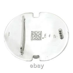 Authentic HERMES Touareg Buckle 925 Sterling Silver #S211029