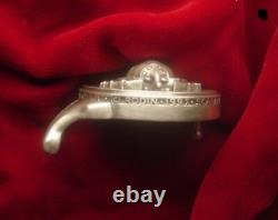 Belt buckle Sterling Silver SCARAB