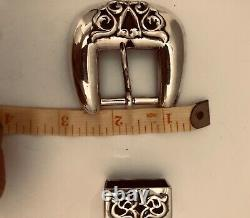 Chrome Hearts authentic sterling silver 1989 classic Belt buckle