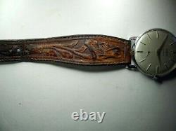 Edward H Bohlin Watch all original Bohlin buckle, hand tooled strap and tip