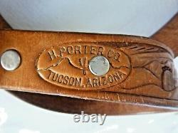 FRANK PATANIA SR Thunderbird Shop Tucson Belt Buckle Turquoise Sterling Silver
