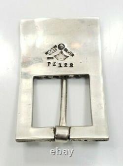 Great Vintage Sterling Silver 925 Antonio Pineda Belt Buckle