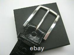Sterling Silver 925 Buckle Available For 1 1-1/8 1-1/4 1-3/8 1-1/2 Belts