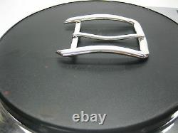 Sterling silver 925 solid buckle 25 grams, for 1 = 25 mm belt straps U. S. A