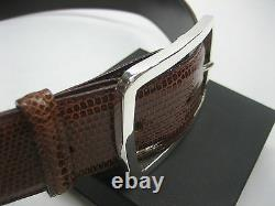 Sterling silver 925 solid buckle 62 grams for 1.5 belt strap, 5.5 mm thick wall