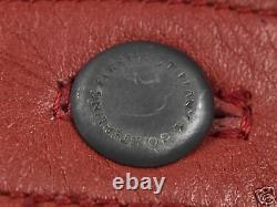 Tiffany & Co Vintage 1978 ELSA PERETTI Sterling Silver Heart Buckle Leather Belt