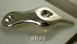 Tiffany & Co Vintage 1981 HUGE ELSA PERETTI Sterling Silver Belt Buckle Pendant