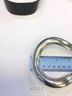 Vintage Tiffany & Co. Peretti Sterling Silver 1984 Belt Buckle