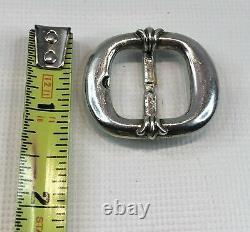Vtg Authentic Chrome Hearts Gunslinger Sterling Silver 925 Charm Pendant