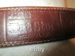 Western Belt/Buckle, Sterling Silver/ 10kt Gold Buckle